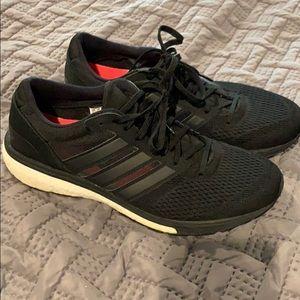 Women's Adidas Boost Adizero size 10.5 Black